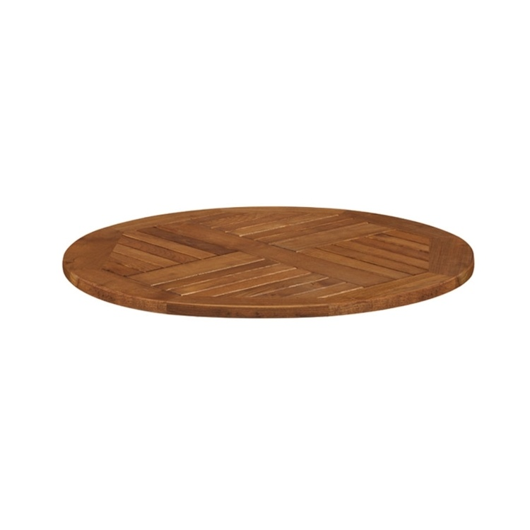 New INSIGNIA Solid Robinia Wood 800mm Round Table Top