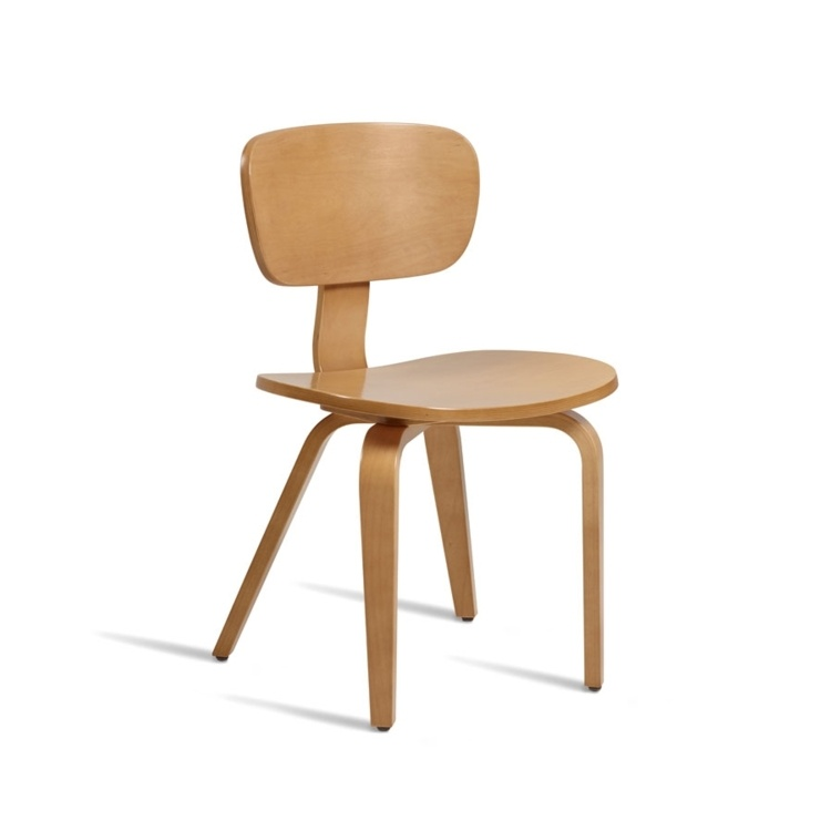 New TRUE Light Oak Side Chair