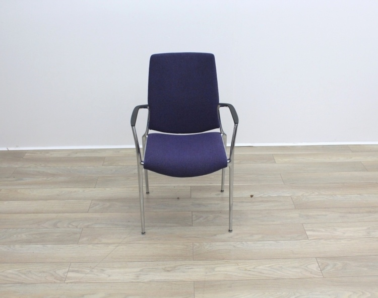 Purple Kusch Co Meeting Chairs