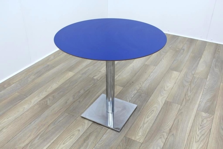 Blue Round Table 900mm