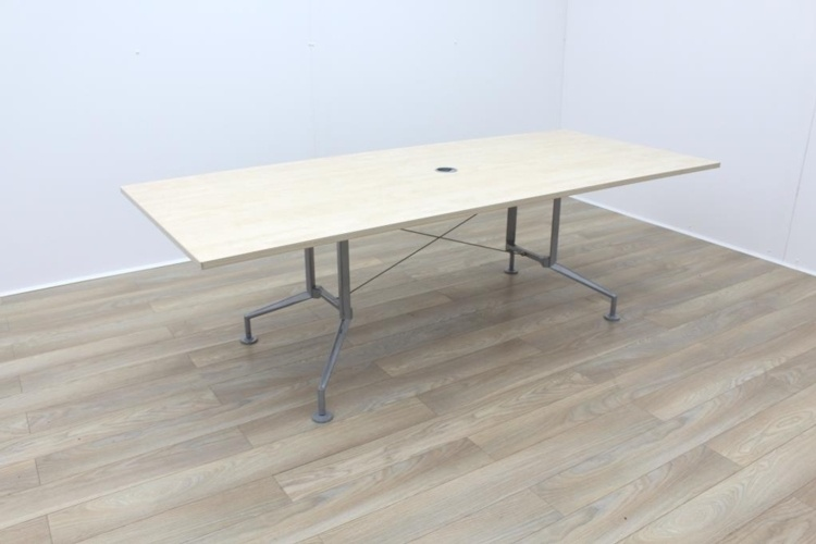 Maple 2400mm Rectangular Office Meeting Table