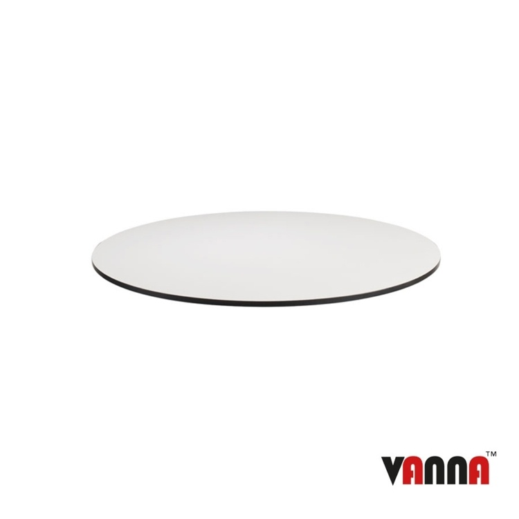 New EXTREMA White 690mm Dia Round Table