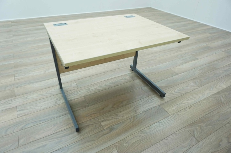 Maple 1000mm Straight Office Desks