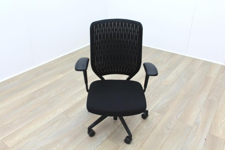 Senator EV Black Mesh Back Fabric Seat Operator Chair