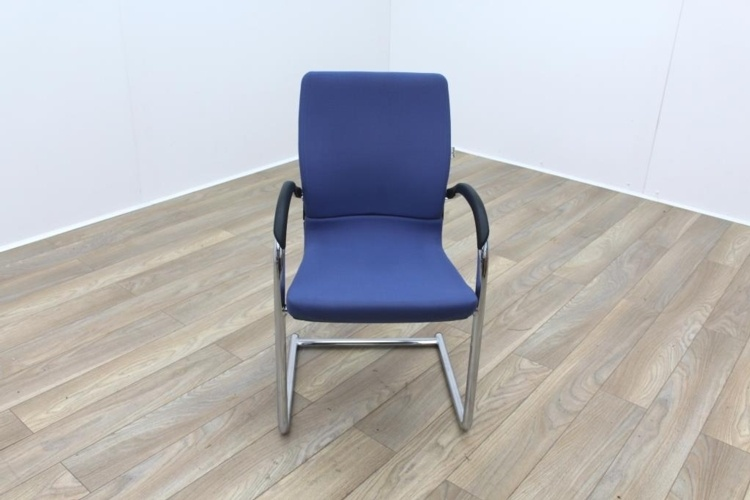 Ahrend Blue Fabric Meeting Chair