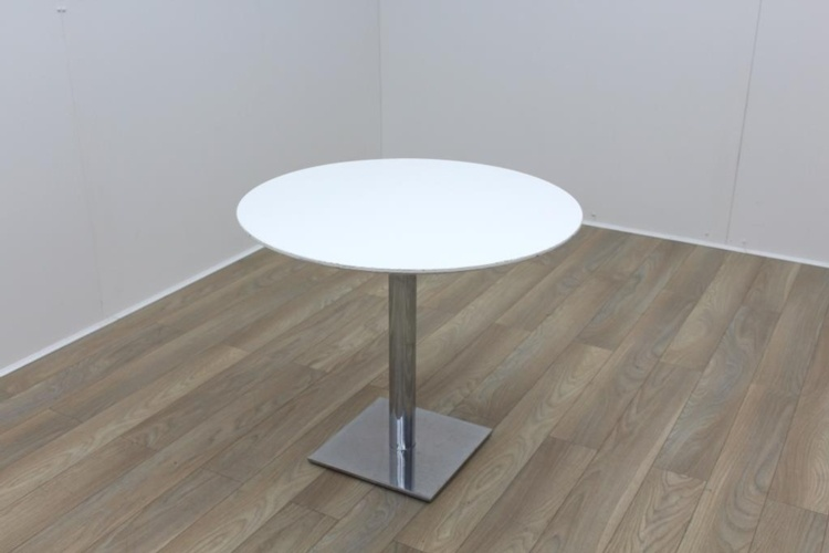 White Round Table 900mm