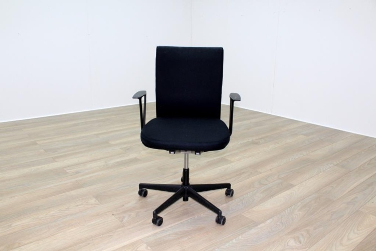 Vitra Axess Black Fabric Office Task Chairs