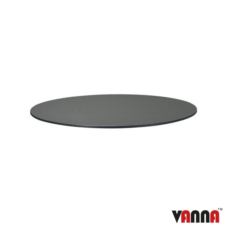 New EXTREMA Anthracite 690mm Dia Round Table