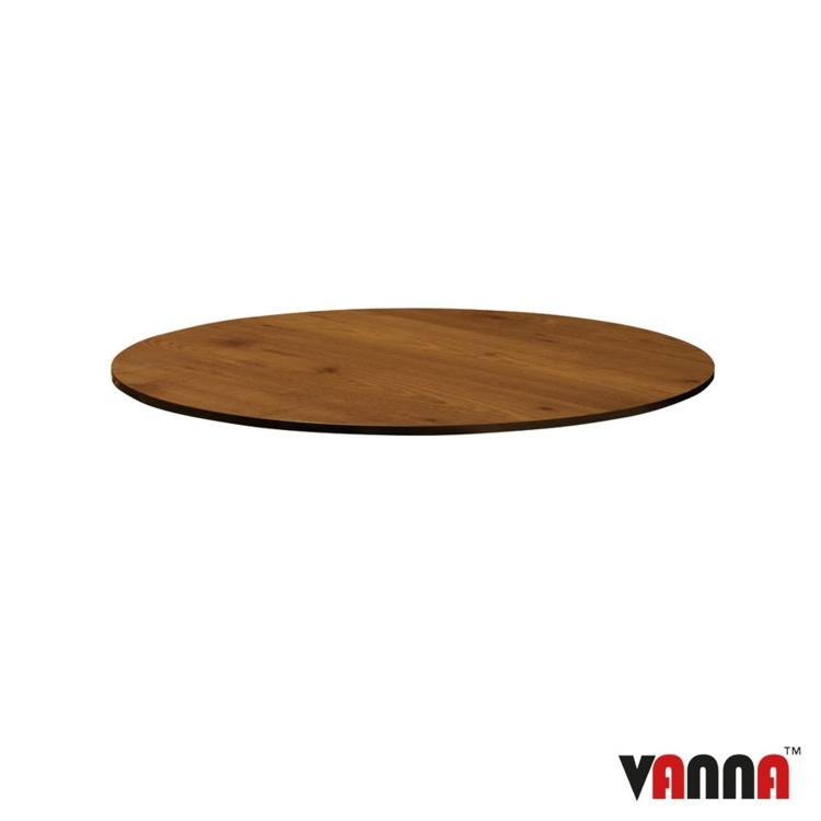 New EXTREMA Wood 690mm Dia Round Table
