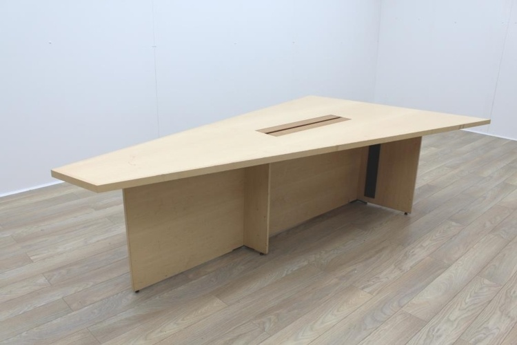 Sven Christiansen 3000mm Rare Triangular Solid Maple / Walnut Meeting Table