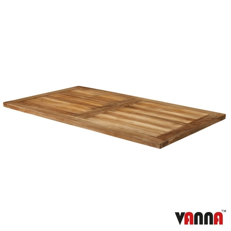 New MALAY Teak Rectangular Table Top