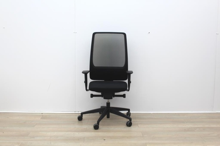 Intersthul Black Operator Chair With Mesh Back