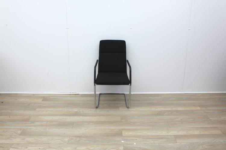Brunner Black Meeting Chair