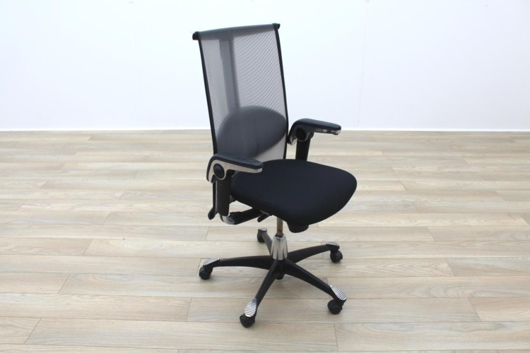 HAG H09 Inspiration Black Fabric Executive Office Task Chair