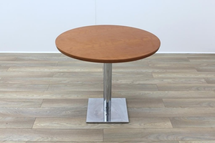 Cherry Solid Wood Round Table 900mm