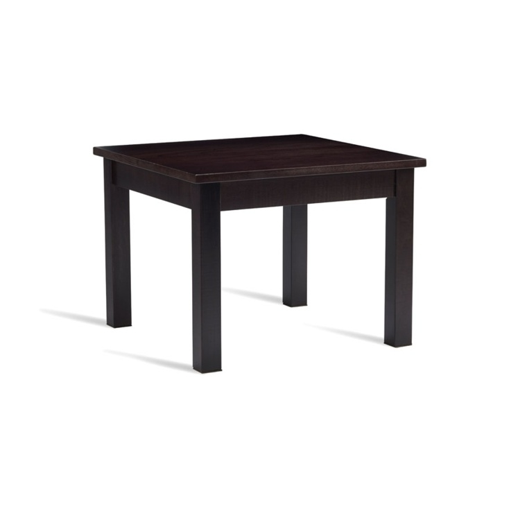 New HUNT Wenge Solid Oak 600mm Square High Quality Coffee Table