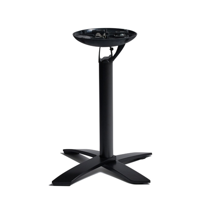 New SPACEGUARD Black Aluminium Flip Top Deluxe Table Base