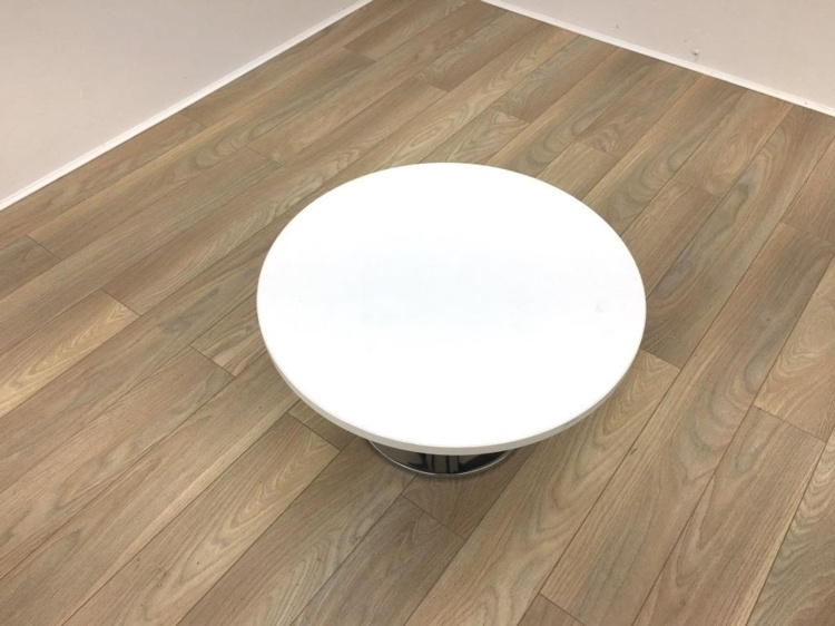 White Coffee Table 700mm