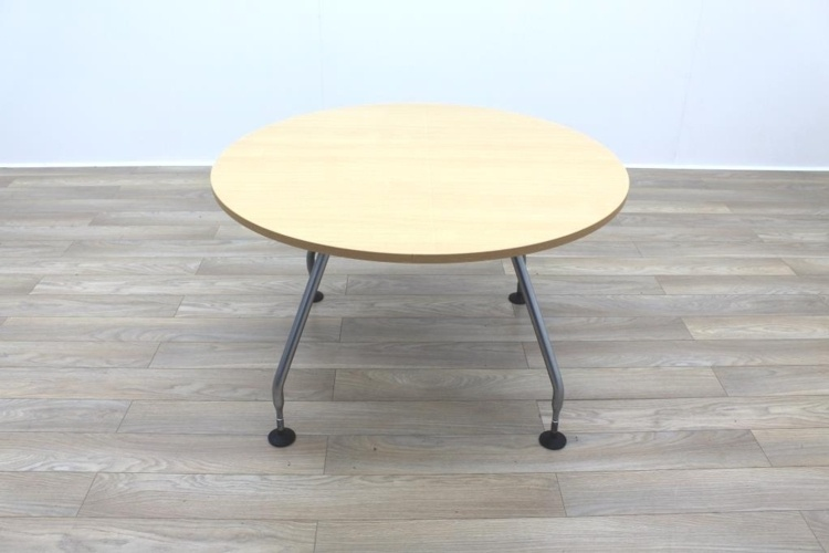 Vitra Adhoc Maple Round Coffee Table
