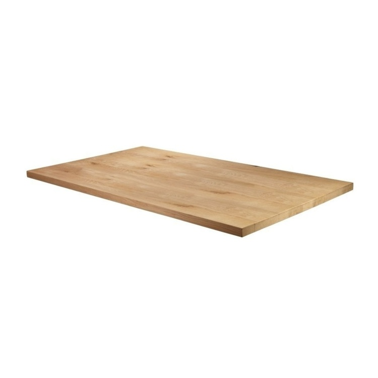 New Unfinished Character Superior Grade Oak 1200mm x 700mm Rectangular Table Top