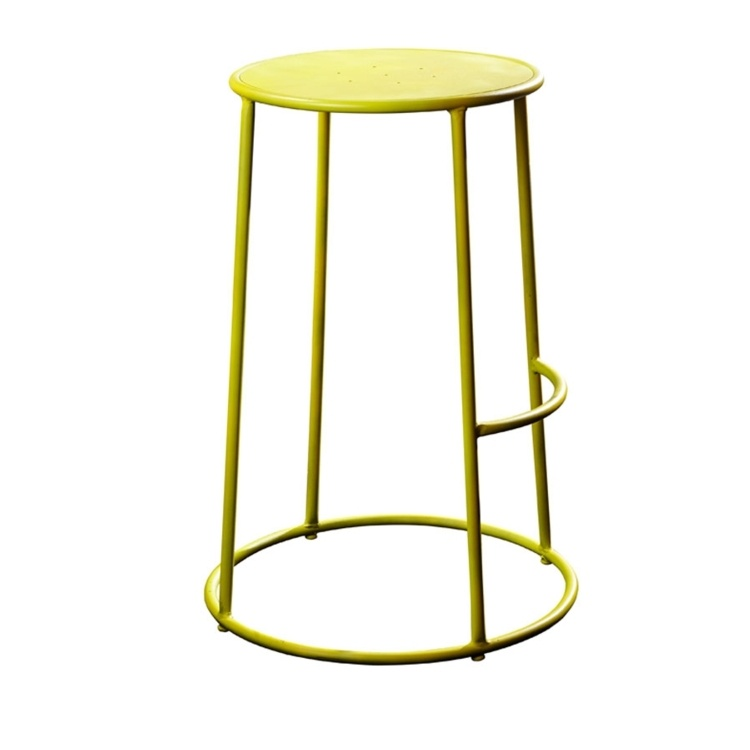 New MAX 75 Yellow Industrial Designer canteen café High Stool