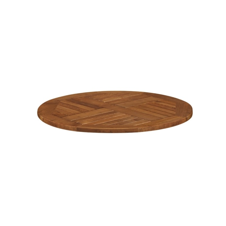 New INSIGNIA Solid Robinia Wood 600mm Round Table Top