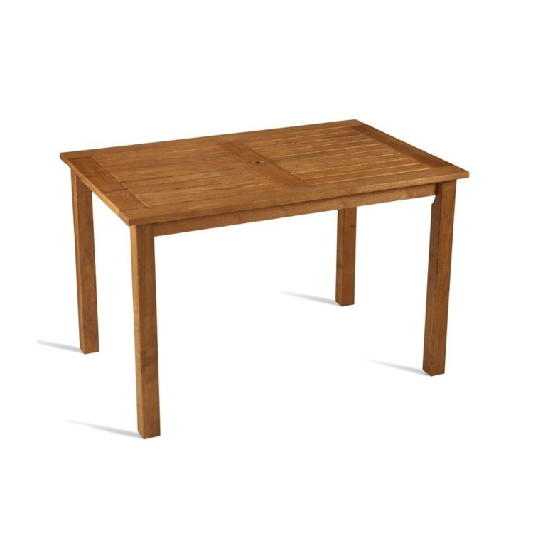 New MORE Robinia Wood Canteen Cafe 4 Seater Table