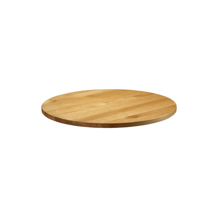 New Natural Lacquered Deluxe 750mm Solid Oak Table Top