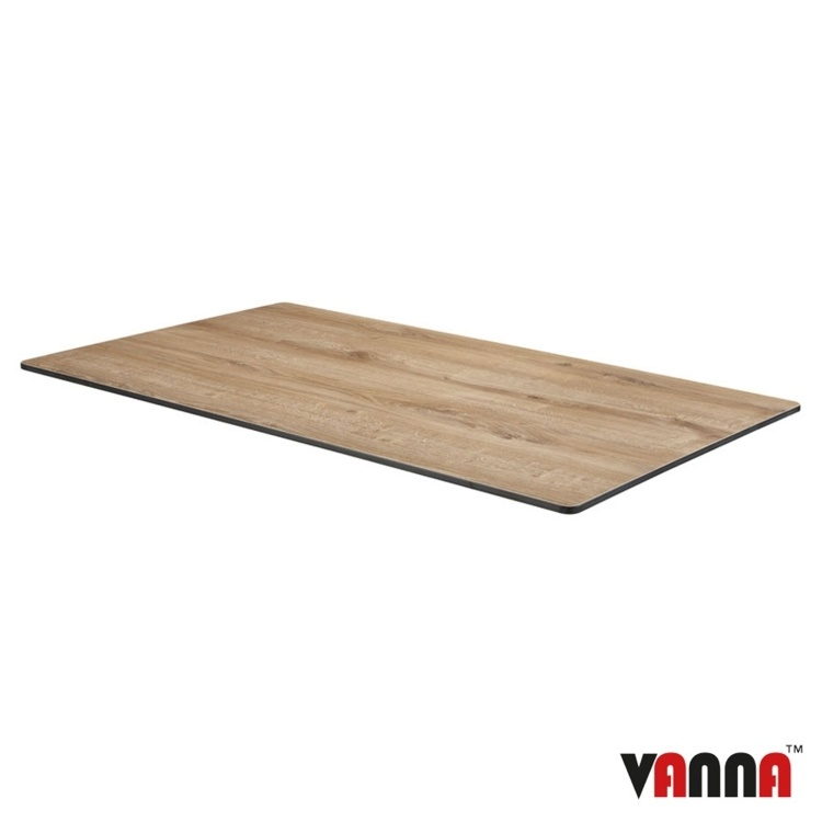 New EXTREMA Aged Wood Rectangular Table