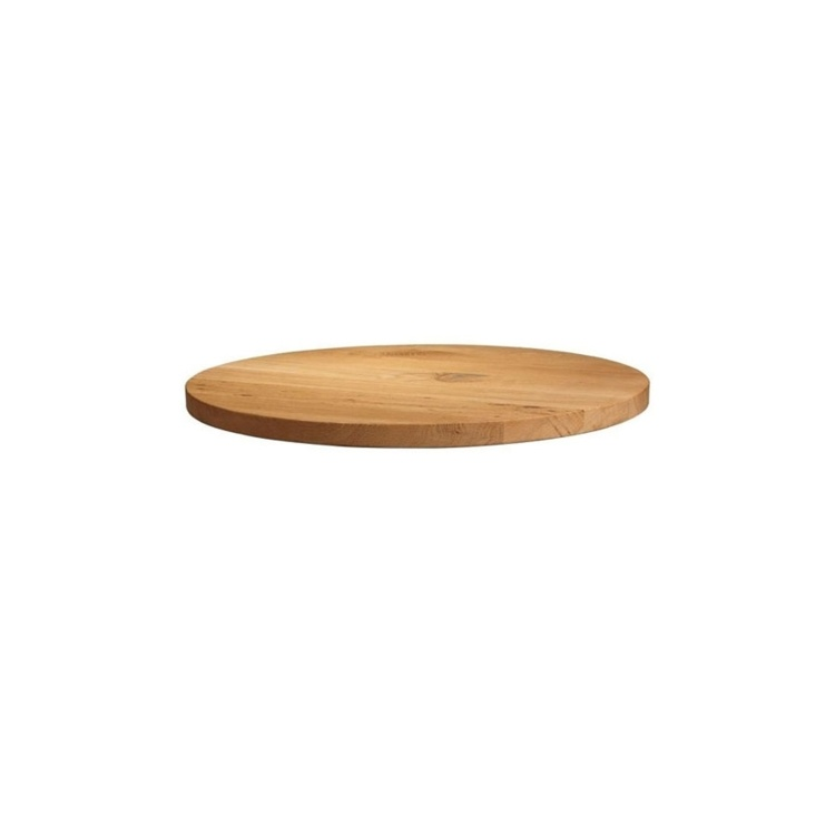 New Unfinished Character Superior Grade Oak 600mm Round Table Top