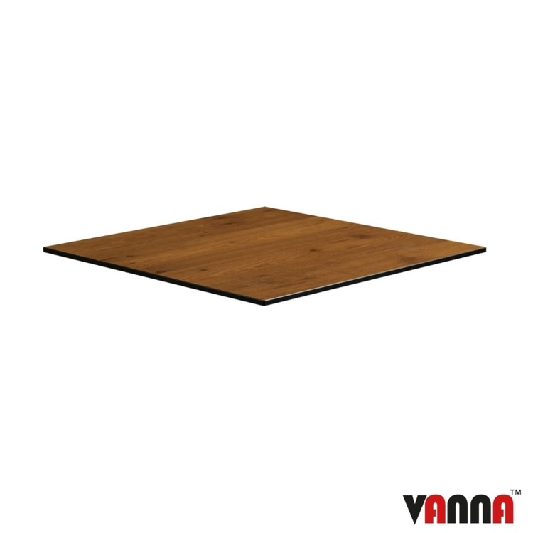 New EXTREMA Wood 690mm Square Table