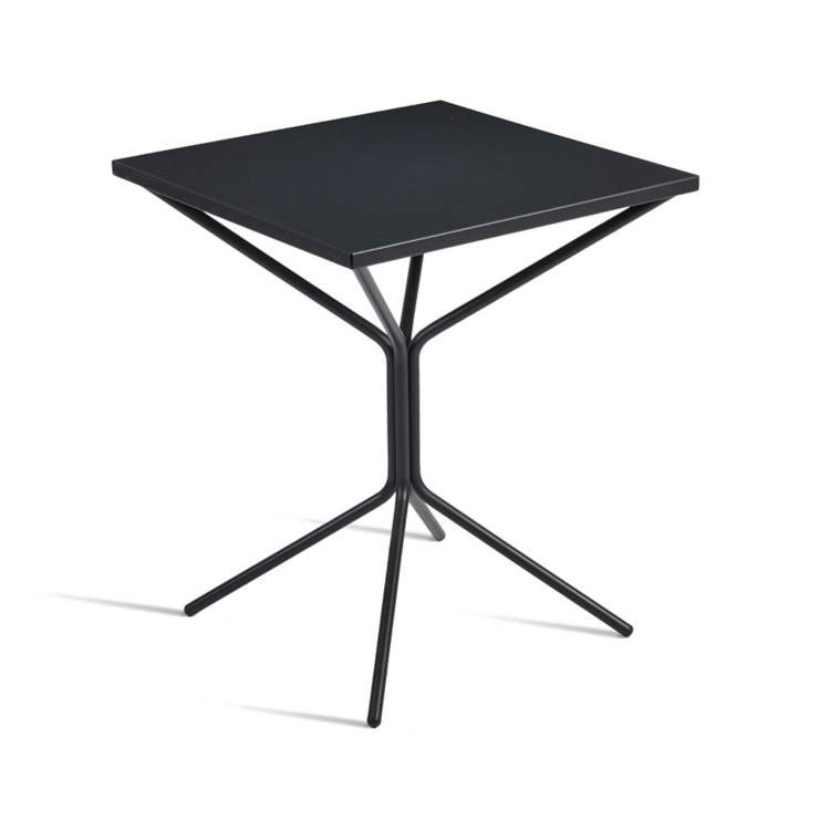 New STREET Anthracite Fold Away Cafe or Street Square Table
