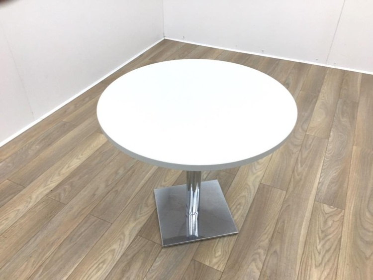 Light Grey Round Table 800mm