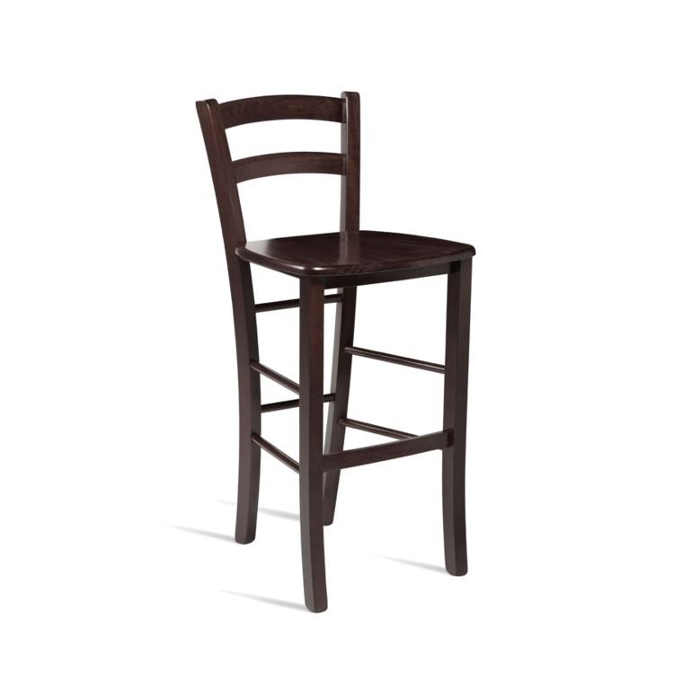 New ROSSO Wenge Bar Stool