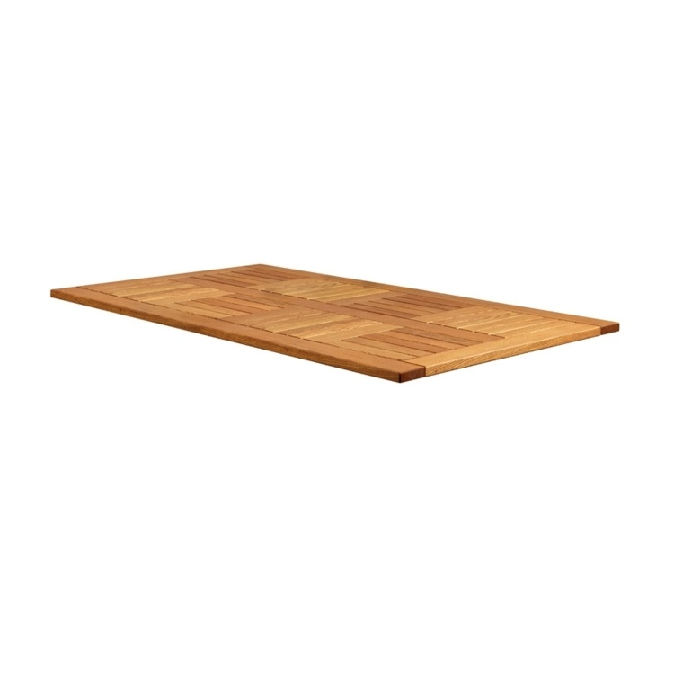 New INSIGNIA Solid Robinia Wood Rectangular Table Top