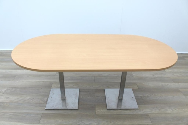 Beech Racetrack Office Meeting Table
