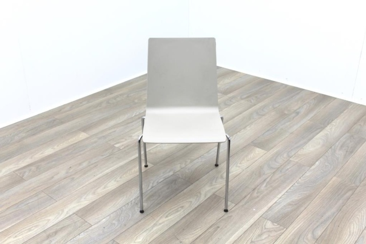Brunner Beige Polymer Meeting Chair