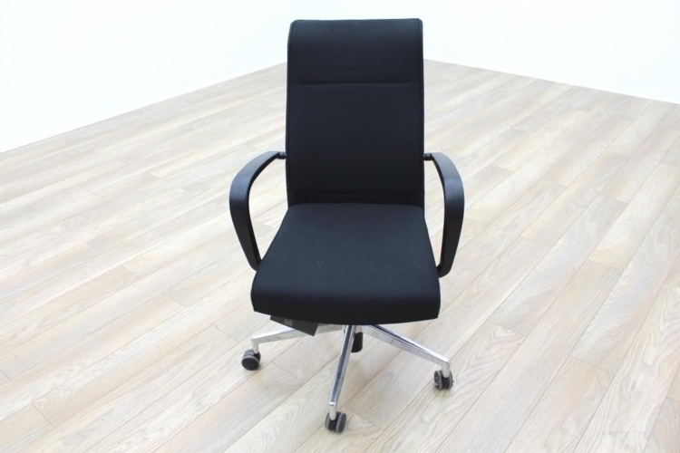 Kusch Co Black Fabric High Back Multifunction Office Task Chair