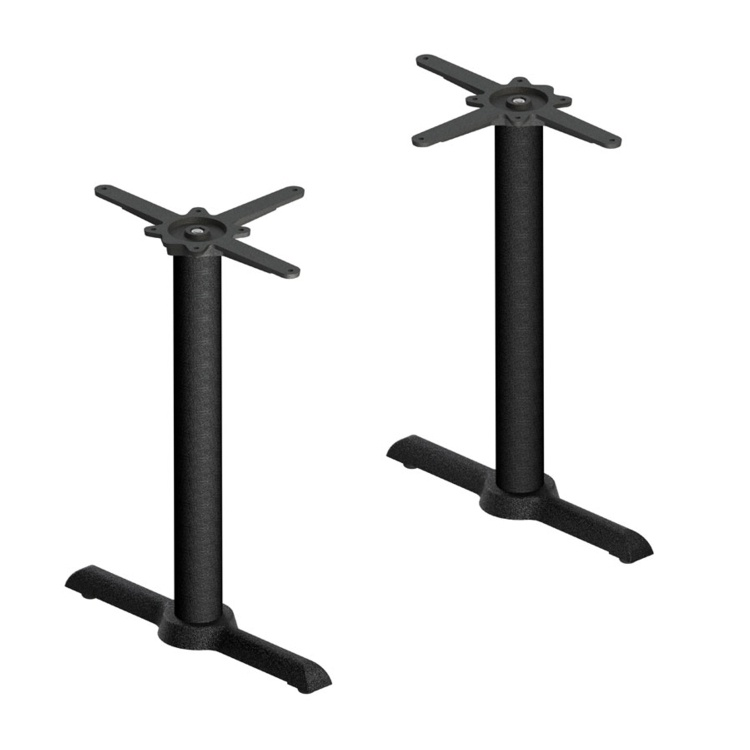 New DETROIT Cast Iron Self Levelling Twin Table Base