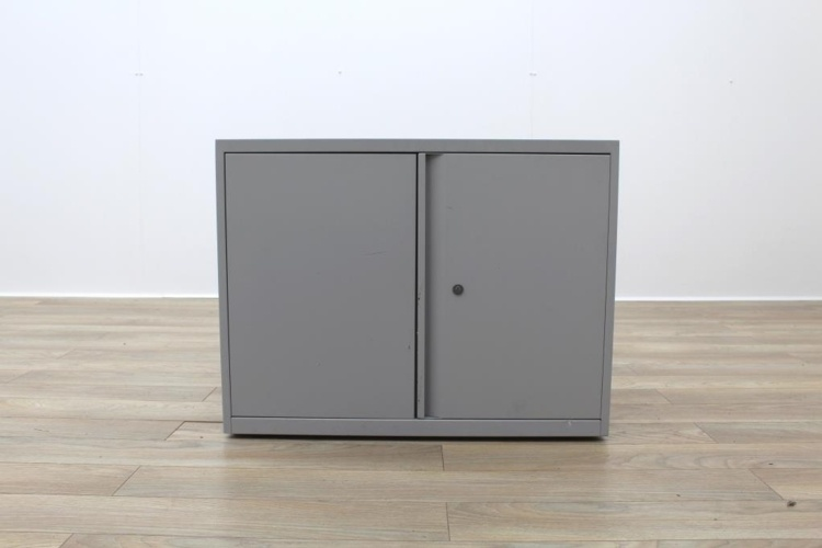 Off White Metal 730mm Two Doors Office Storage Cupboards
