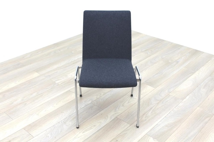 Brunner Dark Grey Fabric Meeting Chair