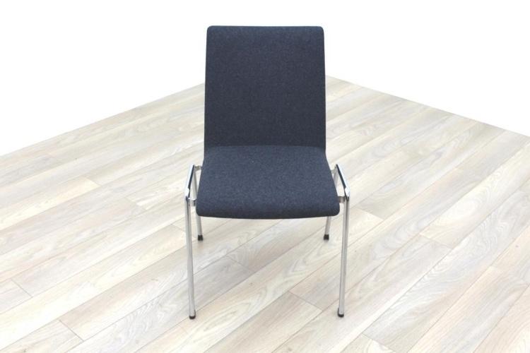 Brunner Dark Grey Fabric Meeting Chair