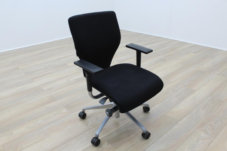 Orangebox X10 Black Fabric Office Task Chairs