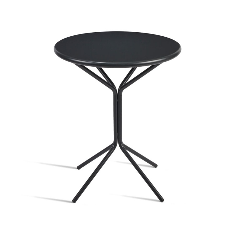 New STREET Anthracite Fold Away Cafe or Street Round Table