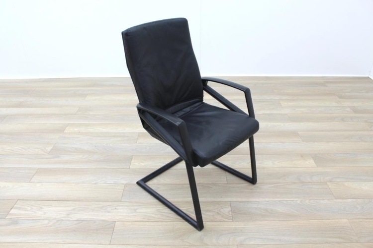 Sitag High Back Black Leather Executive Office Meeting Chair