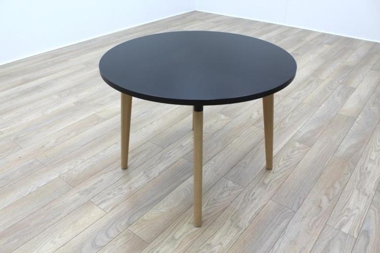 Kusch Co 6100 San Siro Black Circular Meeting Table