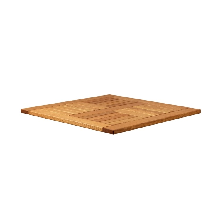 New INSIGNIA Solid Robinia Wood 700mm Square Table Top