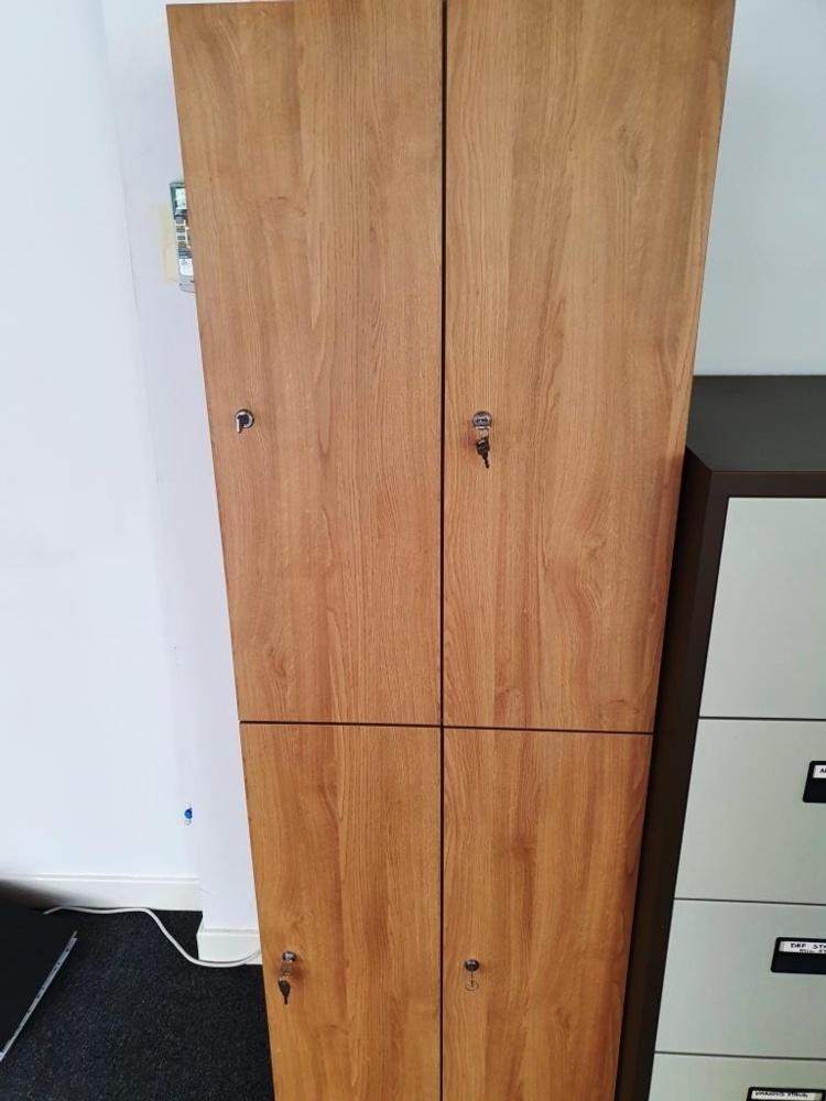 Walnut Staff Lockers