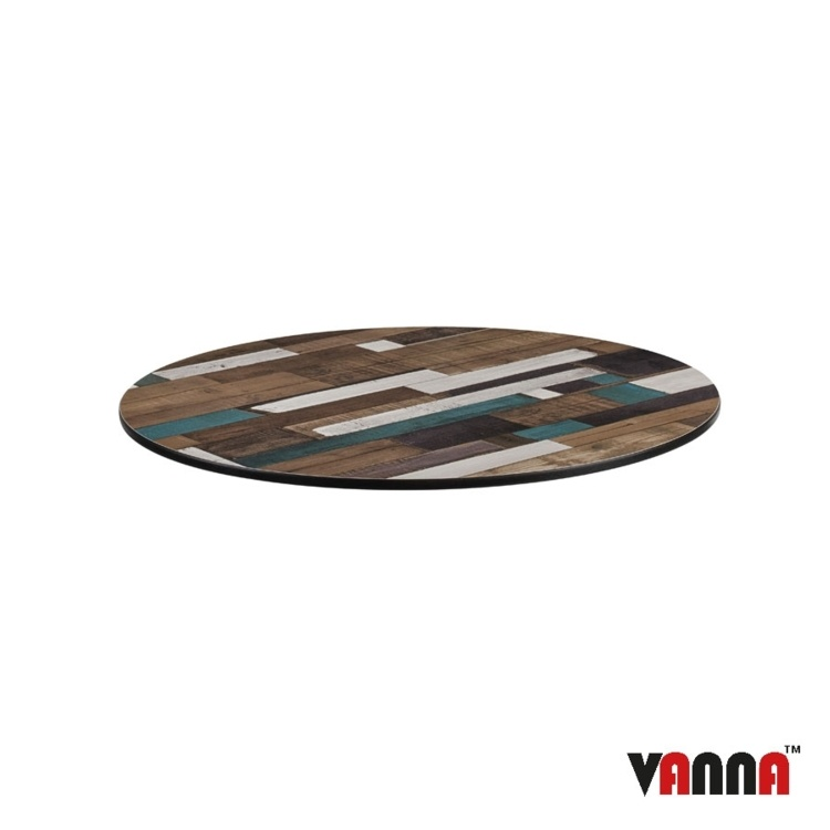 New EXTREMA Driftwood 690mm Dia Round Table