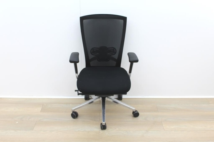 Sidiz Black Operator Chair With Lumbar Support